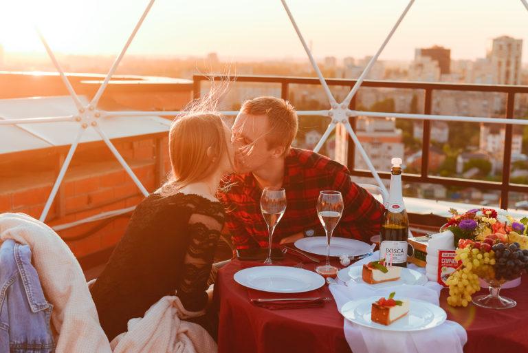 Свидание на самой высокой крыше Воронежа для двоих влюбленных