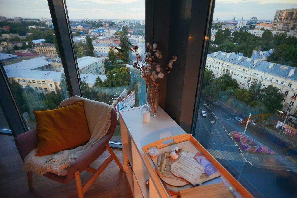 Панорамная студия для романтического сюрприза в Воронеже