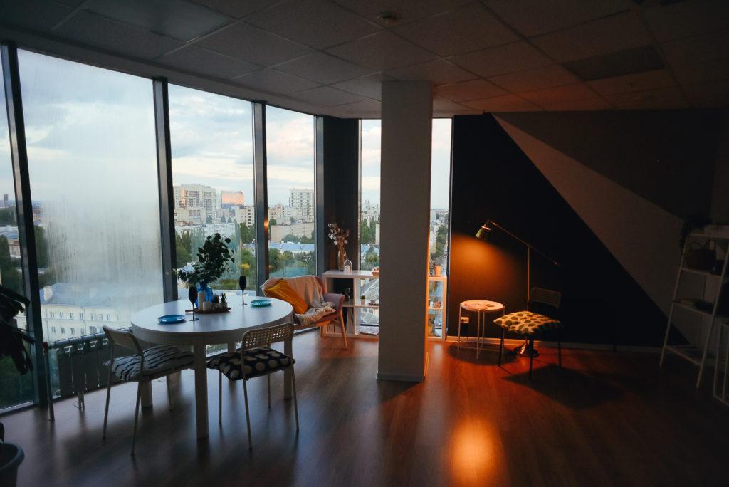 Панорамная студия для романтического вечера (1)