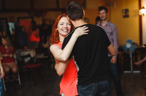 Танцевальный мастер-класс для двоих